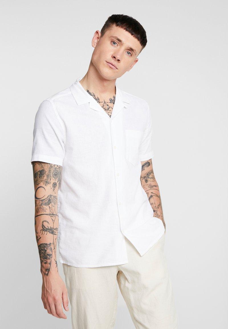 Topman - MIX REVERE - Hemd - white