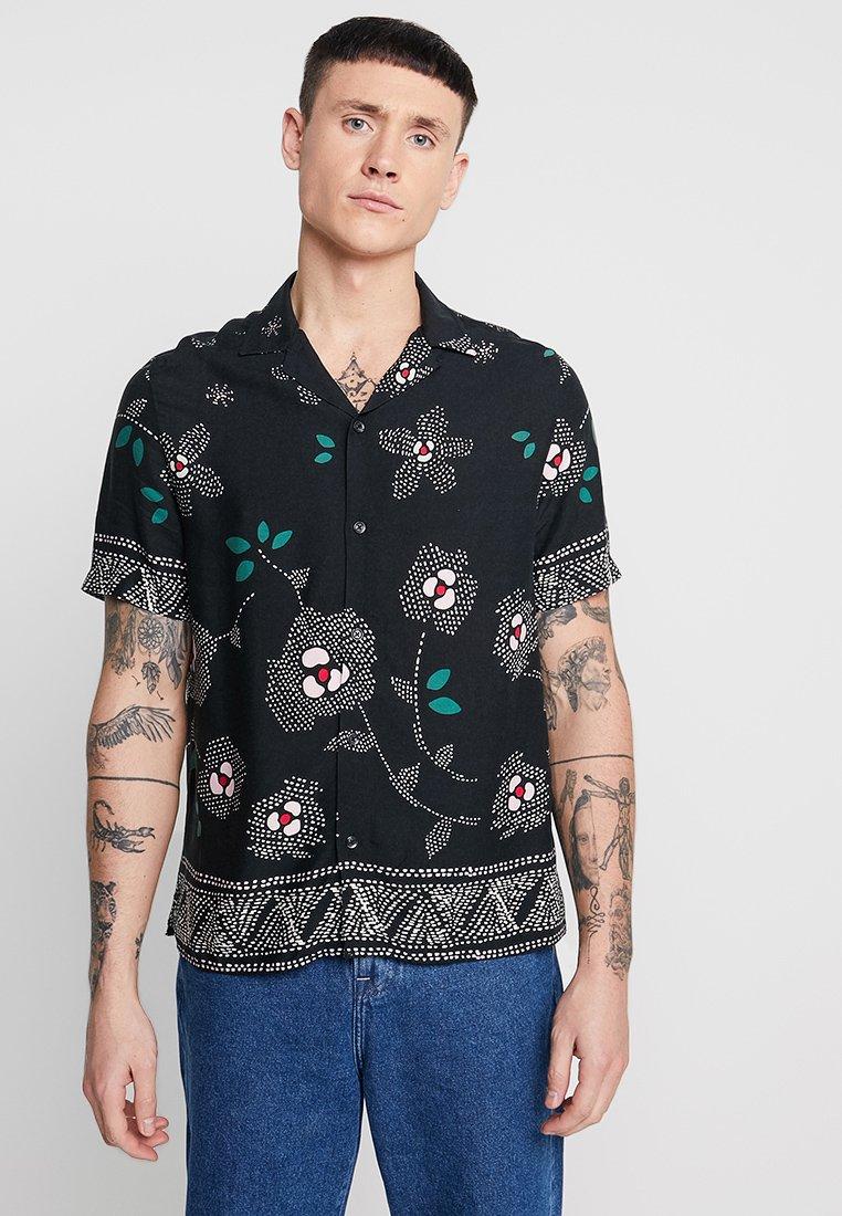 Topman - PRINT REVERE - Skjorter - black