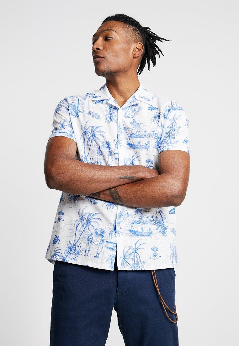 Topman - SLUB ISLAND REVERE - Camisa - white