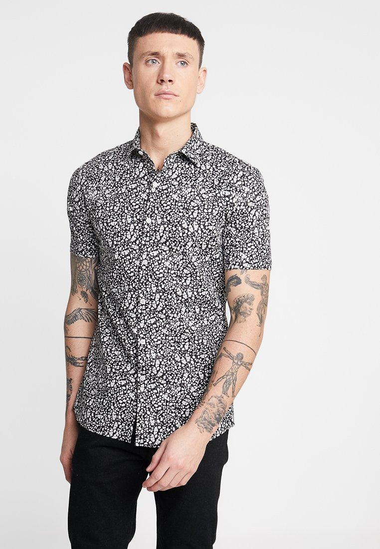 Topman - DITSY FLORAL - Camisa - black