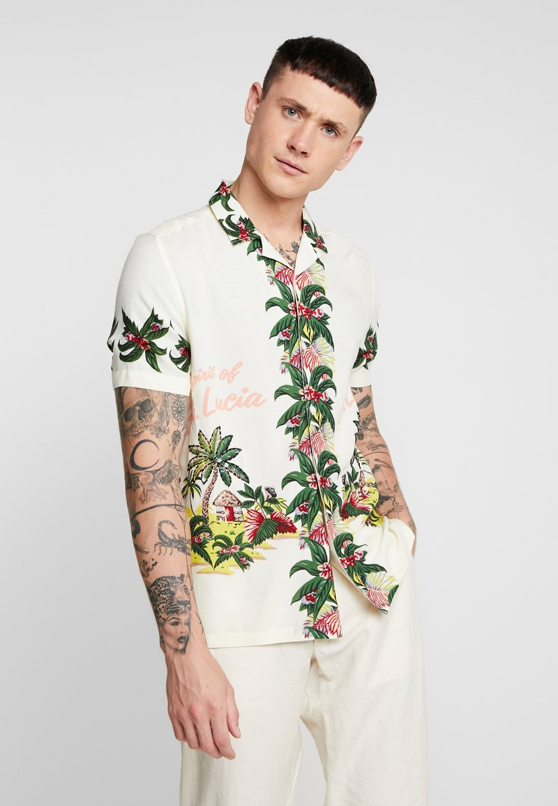 Topman - HAWAII SEQUIN - Hemd - multi