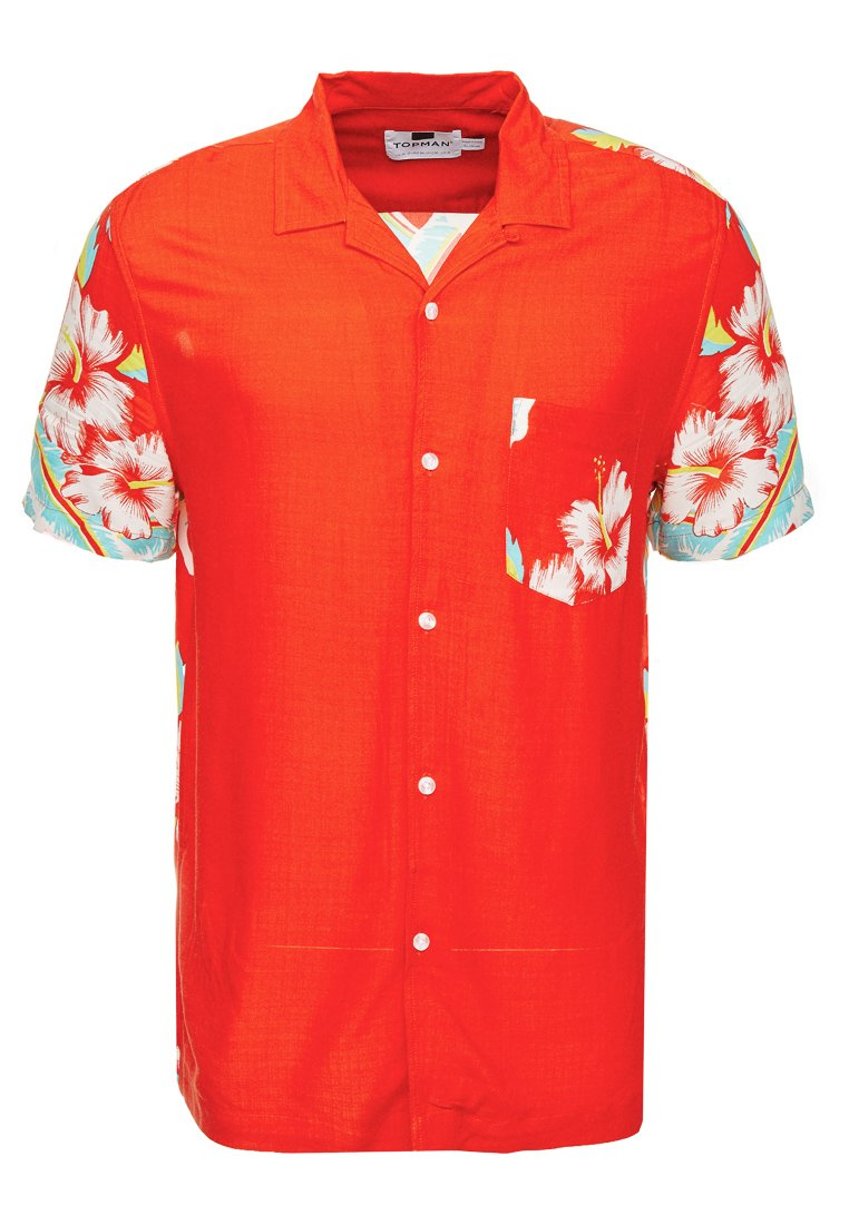 LadyChemise Red Topman Topman Hawaiian Hawaiian 4jLARq35