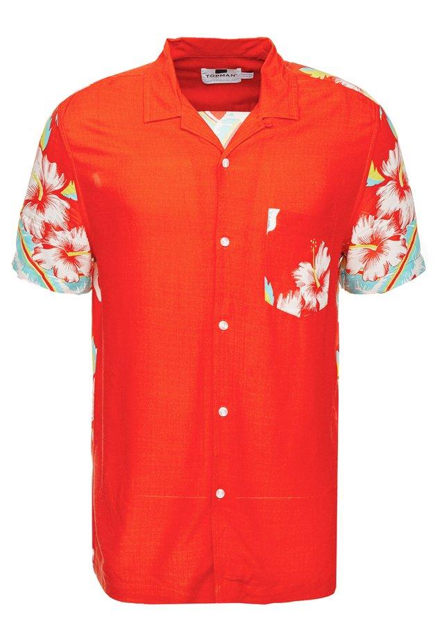 HAWAIIAN LADY - Vapaa-ajan kauluspaita - red
