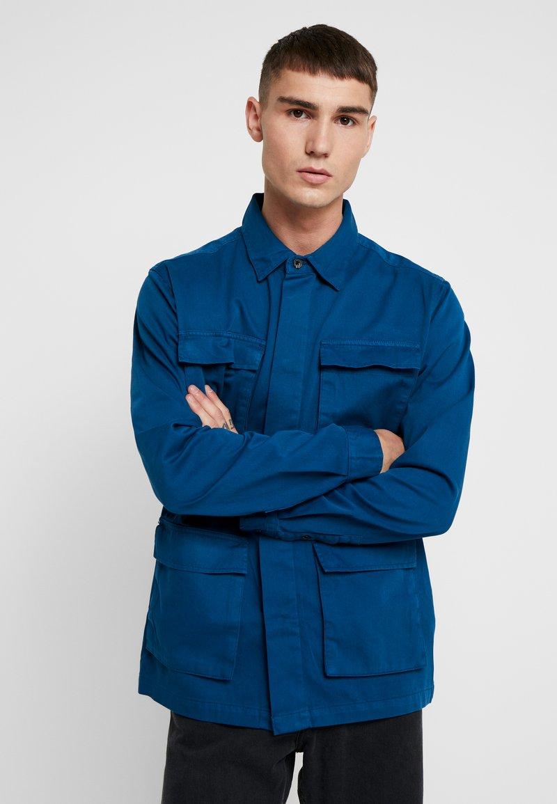 Topman - WORKWAER  - Summer jacket - blue