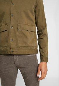 Topman - COORD CROPPED  - Camicia - khaki - 6