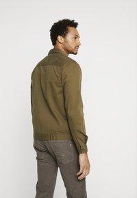 Topman - COORD CROPPED  - Camicia - khaki - 2