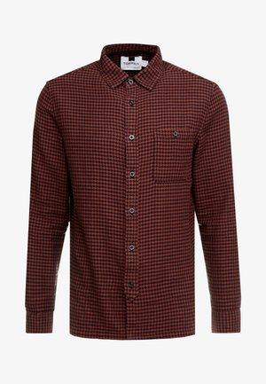 DOGTOOTH - Camicia - rust