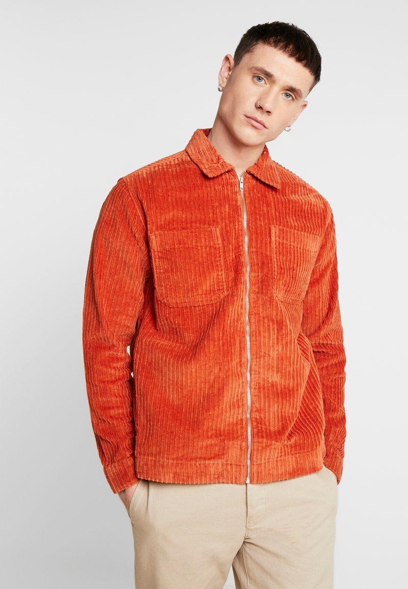 Topman - JUMBO  - Camicia - rust