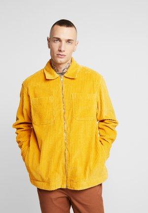 JUMBO ZIP - Skjorta - yellow