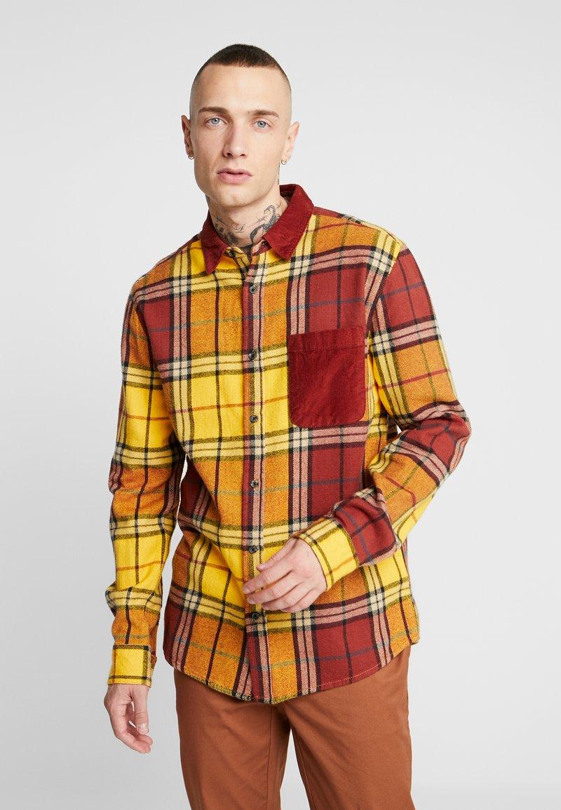 Topman - Shirt - mustard