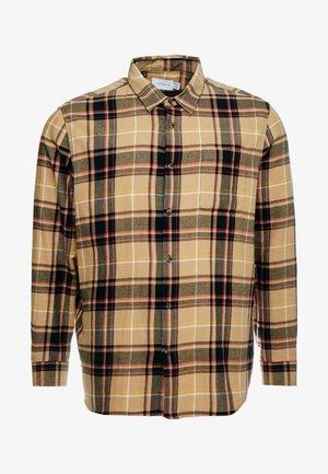 TARTAN CHECK - Shirt - stone