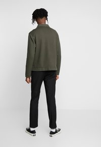 Topman - CHIVE SHACKET POPPER THROUGH - Summer jacket - green - 2