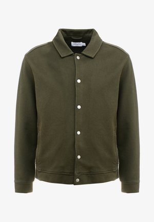 CHIVE SHACKET POPPER THROUGH - Chaqueta fina - green