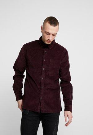 SHIRT - Shirt - burgundy