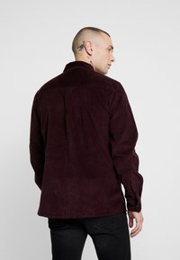 Topman - SHIRT - Camisa - burgundy - 2
