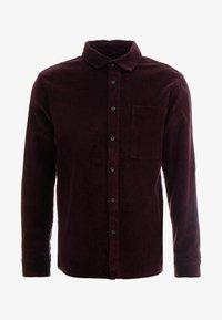 Topman - SHIRT - Camisa - burgundy - 3