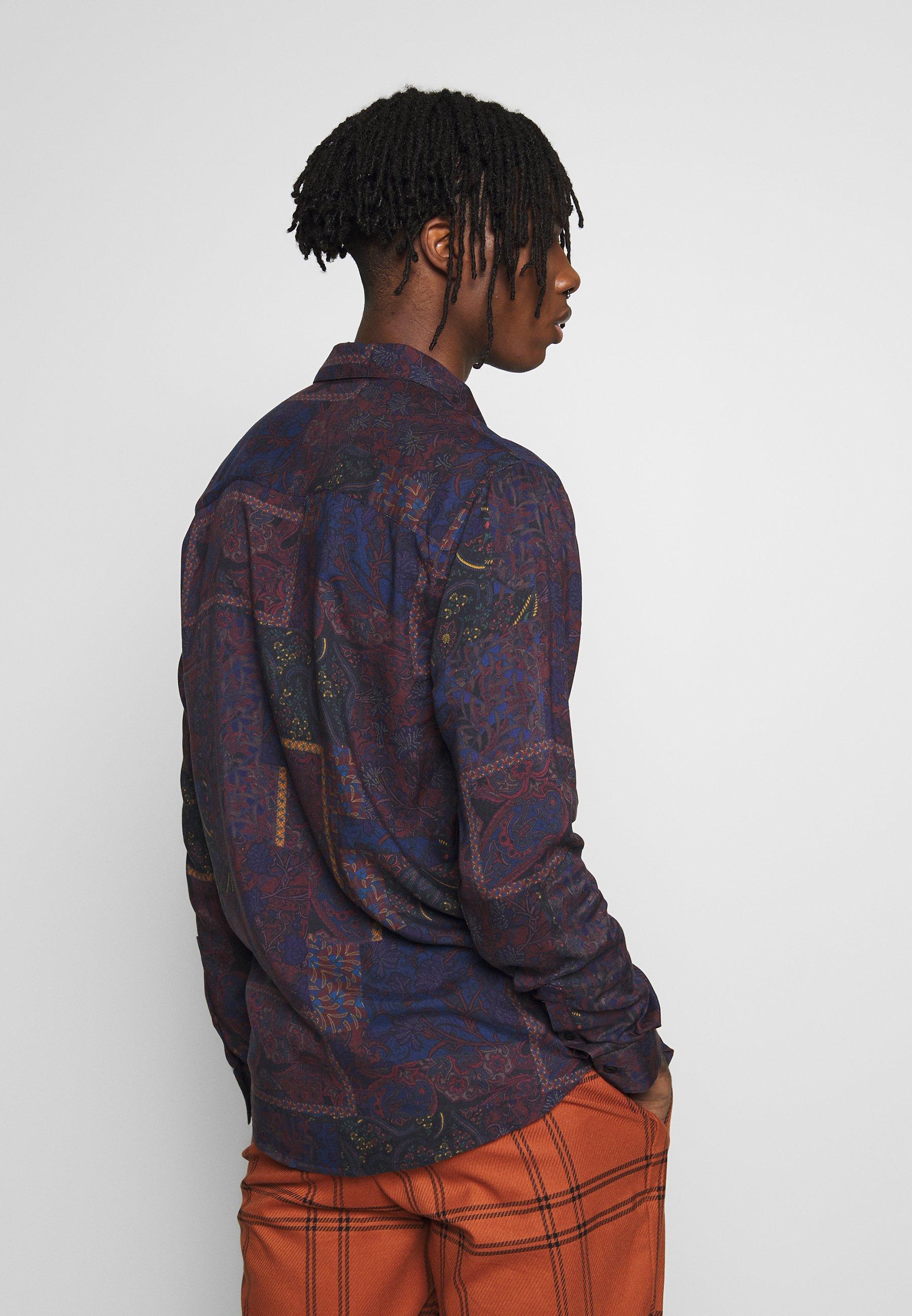 Topman PAISLEY PATCHWORK - Koszula - multi-coloured
