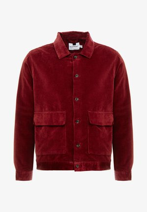 BURG CROP  - Camisa - burgundy