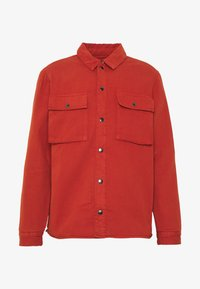 Topman - QUILTED POPPER - Jas - tobacco - 3