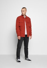 Topman - QUILTED POPPER - Jas - tobacco - 1