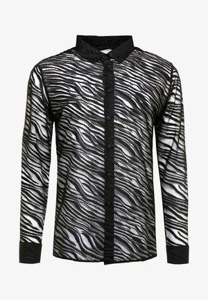 ZEBRA LACE DESIGN - Overhemd - black