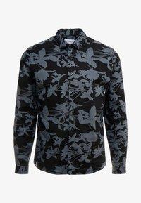 Topman - SHADOW FLORAL - Camicia - grey - 4