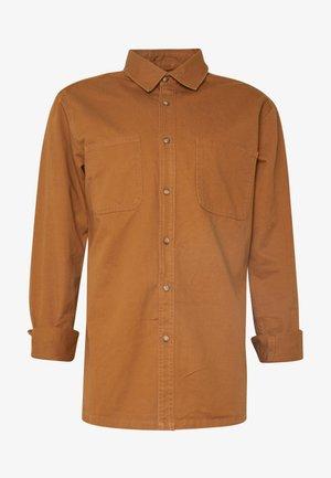 CONTRAST STITCH  - Overhemd - brown