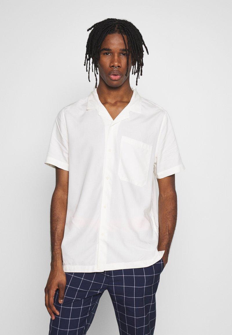 Topman - ECO VERO REVERE - Camicia - off white