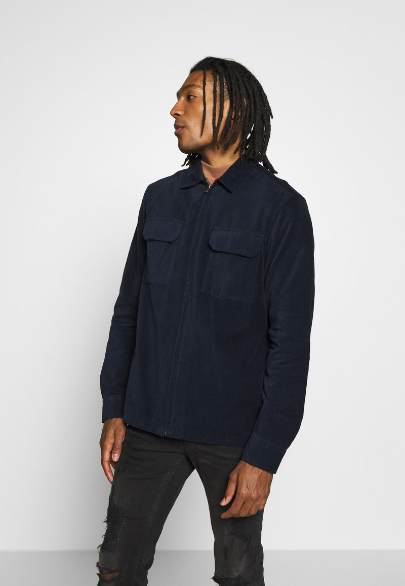 Topman - Shirt - dark blue