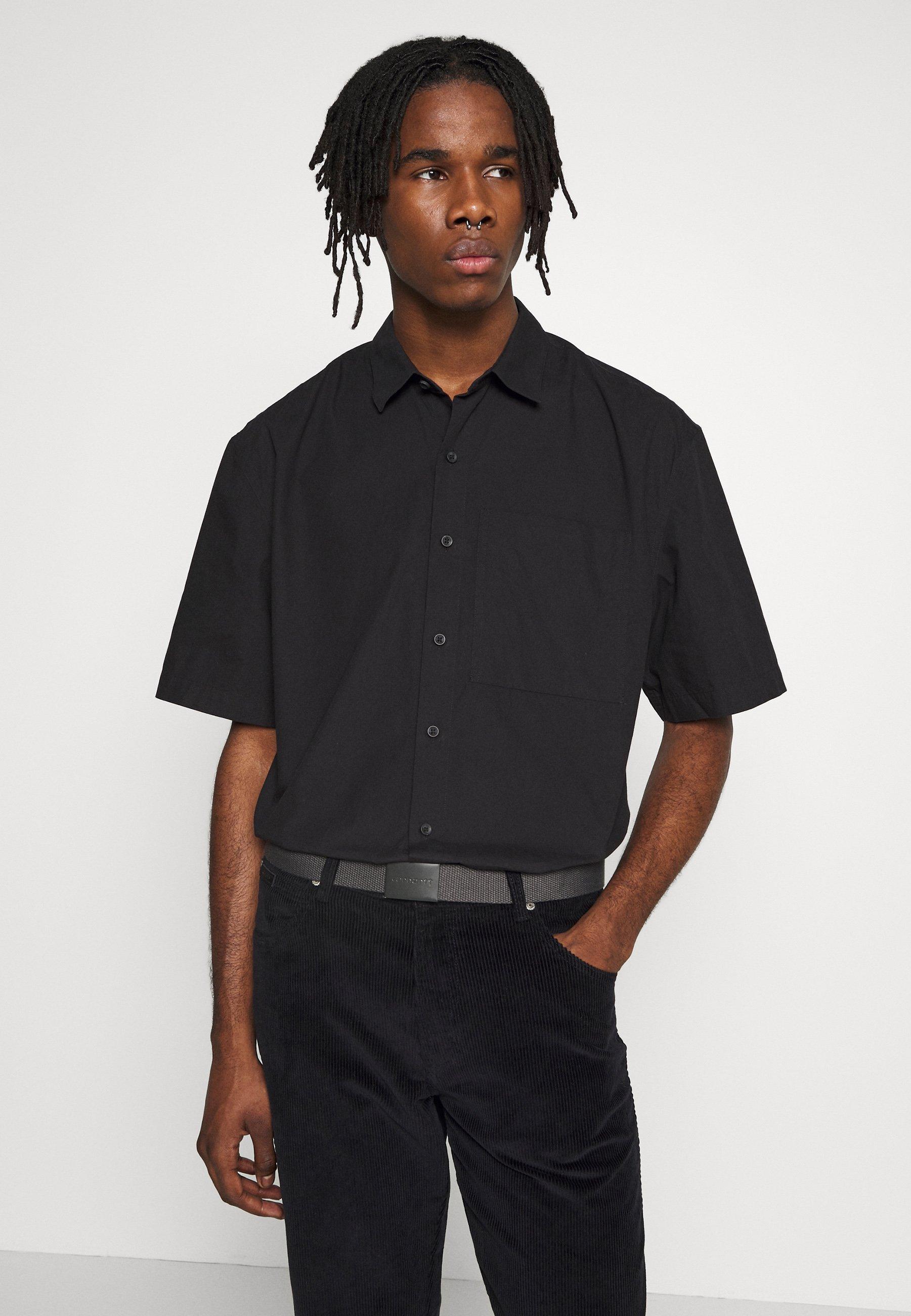 Topman OSIZE NEW SHAPE TRIAL - Koszula - black