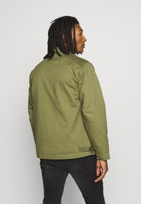 Topman - MILITARY DECK JACKET - Light jacket - green - 2