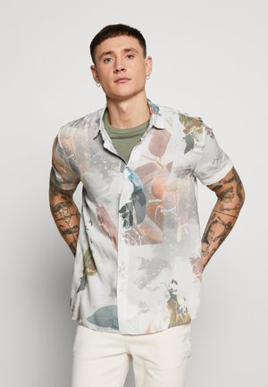 WATERCOLOUR NORSEN - Camicia - white/multicolor