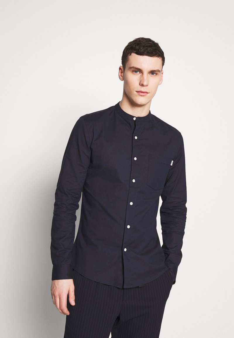 Topman - OXFORD - Camicia elegante - navy