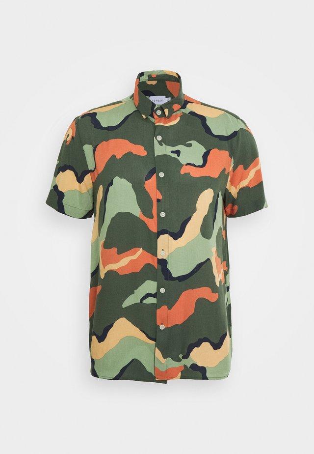 COLOUR CAMO - Camicia - multi-coloured