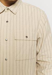 Topman - OVERSHIRT - Overhemd - stone - 4