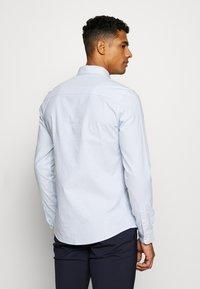 Topman - PINSTRIPE - Formal shirt - blue - 2