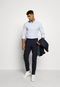 Topman - PINSTRIPE - Formal shirt - blue - 1
