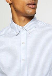Topman - PINSTRIPE - Formal shirt - blue - 3