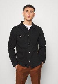 Topman - CHORE - Shirt - black - 0