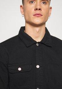 Topman - CHORE - Shirt - black - 5