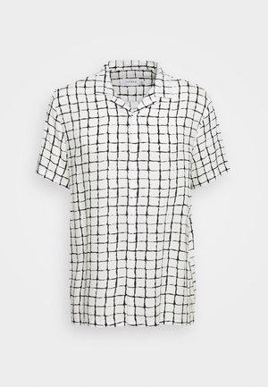 BASE CHECK REVERE - Camicia - white