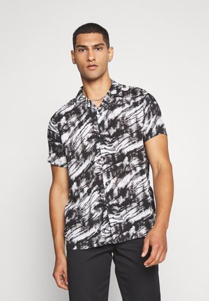 MONO TIGER REVERE - Camicia - black/white