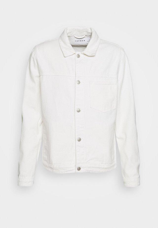 WESTERN - Giacca di jeans - ecru