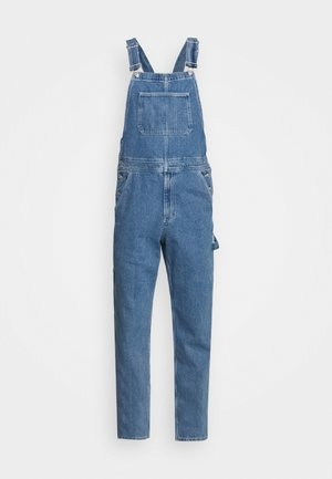 Dungarees - mid wash