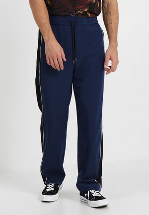 FULL LENGTH SIDE INTEREST  - Pantalon de survêtement - blue