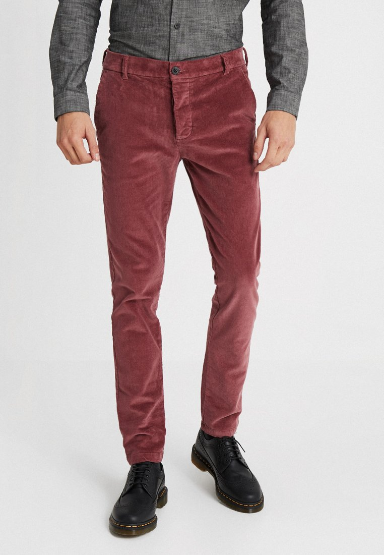 Topman - TROUSERS - Stoffhose - pink