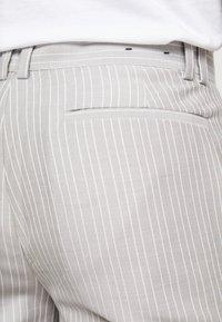 Topman - PINSTRIPE - Kalhoty - grey - 4