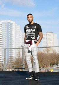 Topman - RULES CHECK - Pantaloni - grey - 4