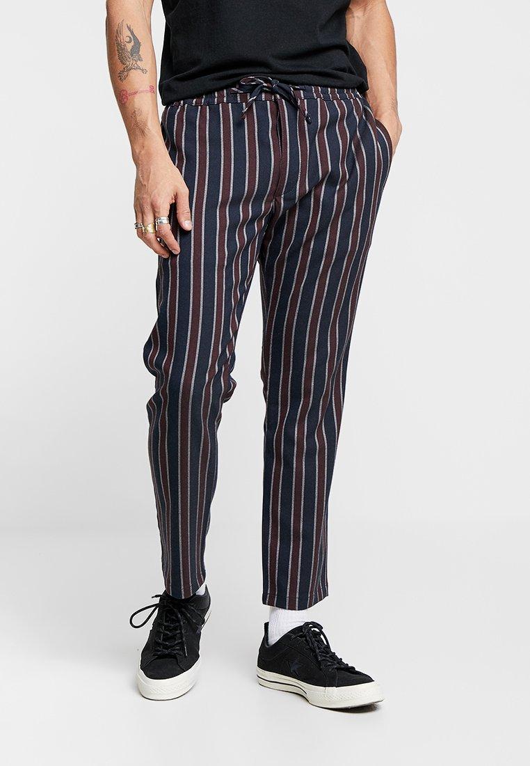 Topman - Trousers - navy