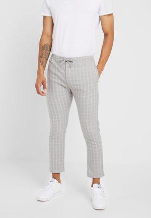 CHECK WHYATT - Pantalon classique - grey
